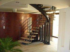 escalier domino limon central 5