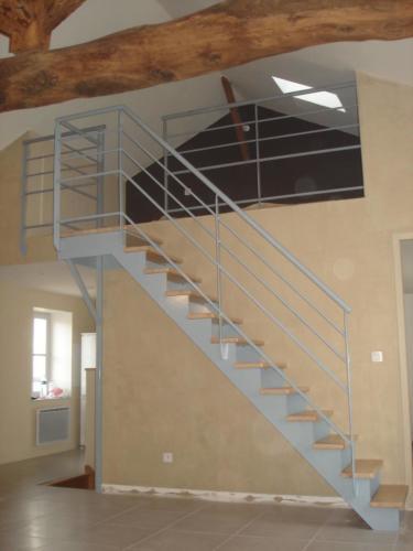 escalier  semi cremaillère 2