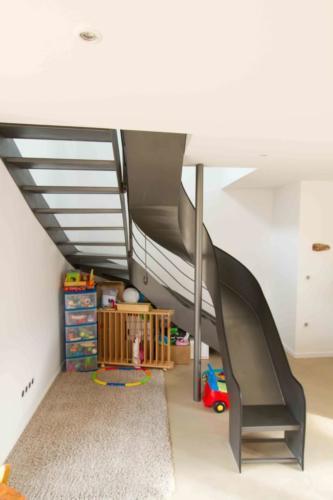 escalier toboggan