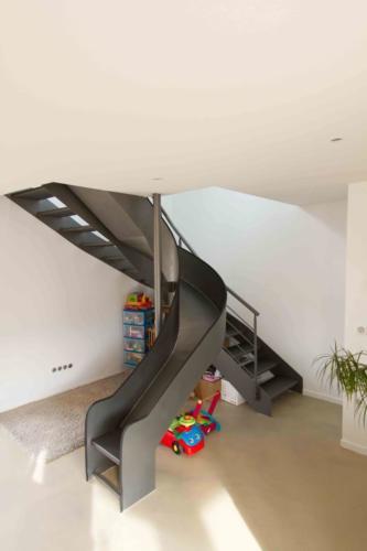 escalier toboggan 2