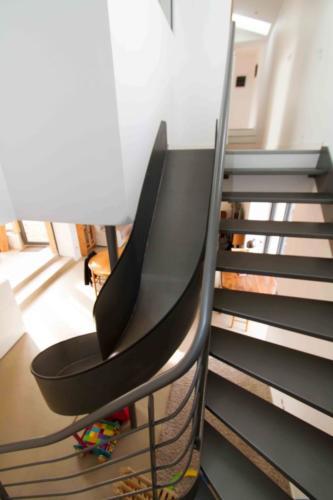 escalier toboggan 4