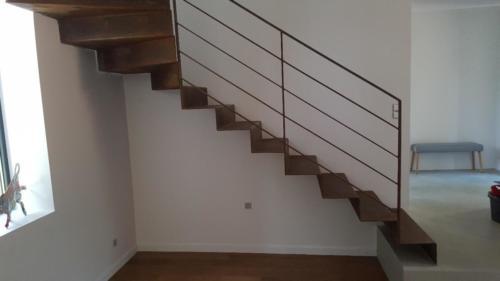 escalier tole pliée 4