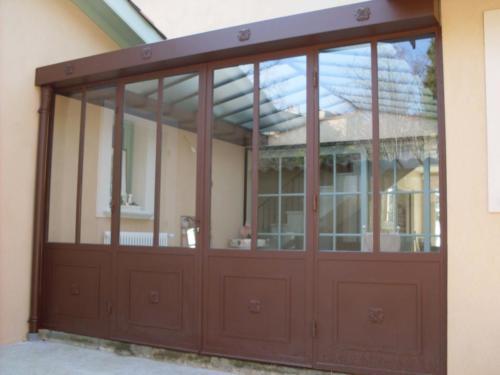 veranda acier