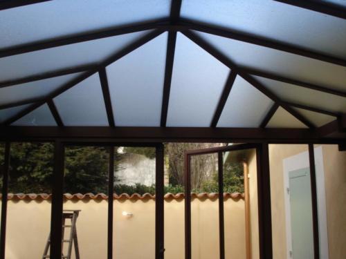 veranda acier 10