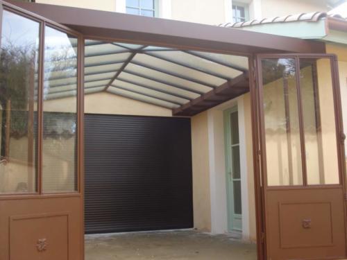 veranda acier 12