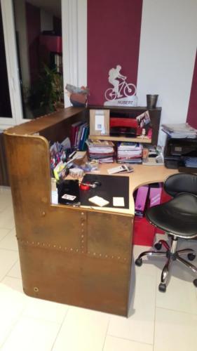 bureau ancienne  cuve 2