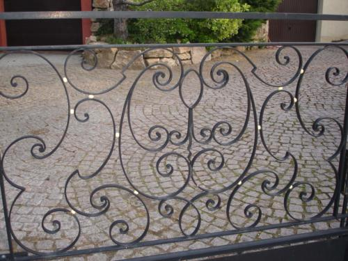 portail fer forgé 17